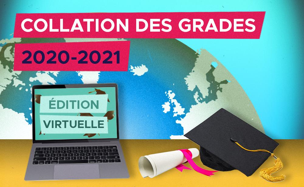 Collation des grades 2020-2021
