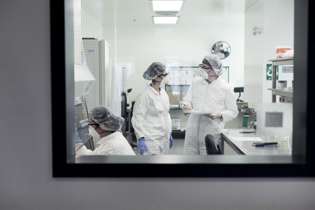 Laboratoire de biosecurité à niveau élevé à l'INRS