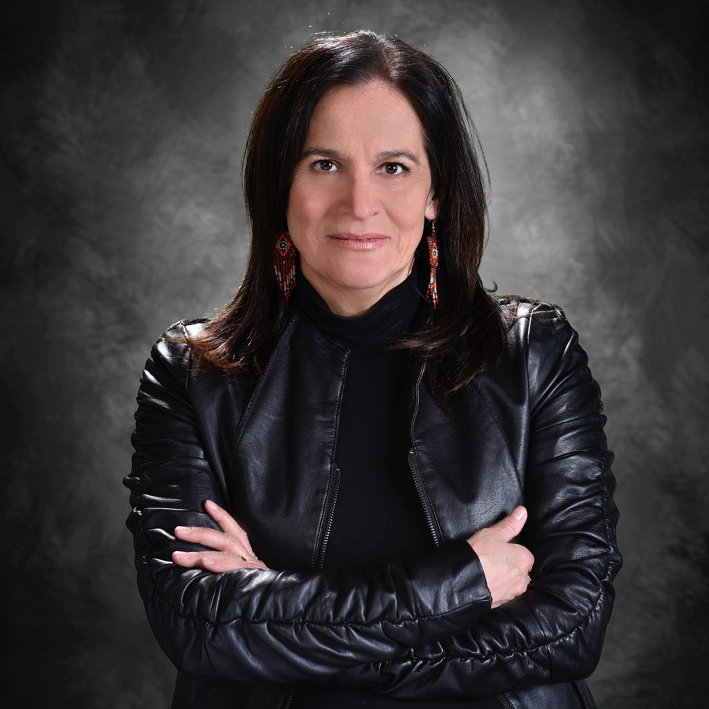 Edith Cloutier, Executive Director of the Val-d'Or Native Friendship Centre
