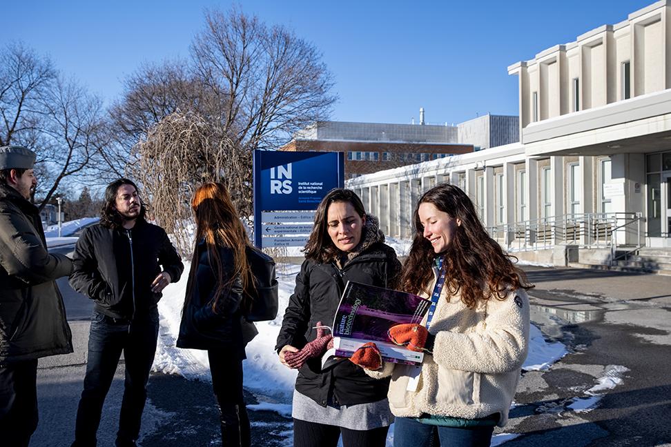 Étudiants Students INRS