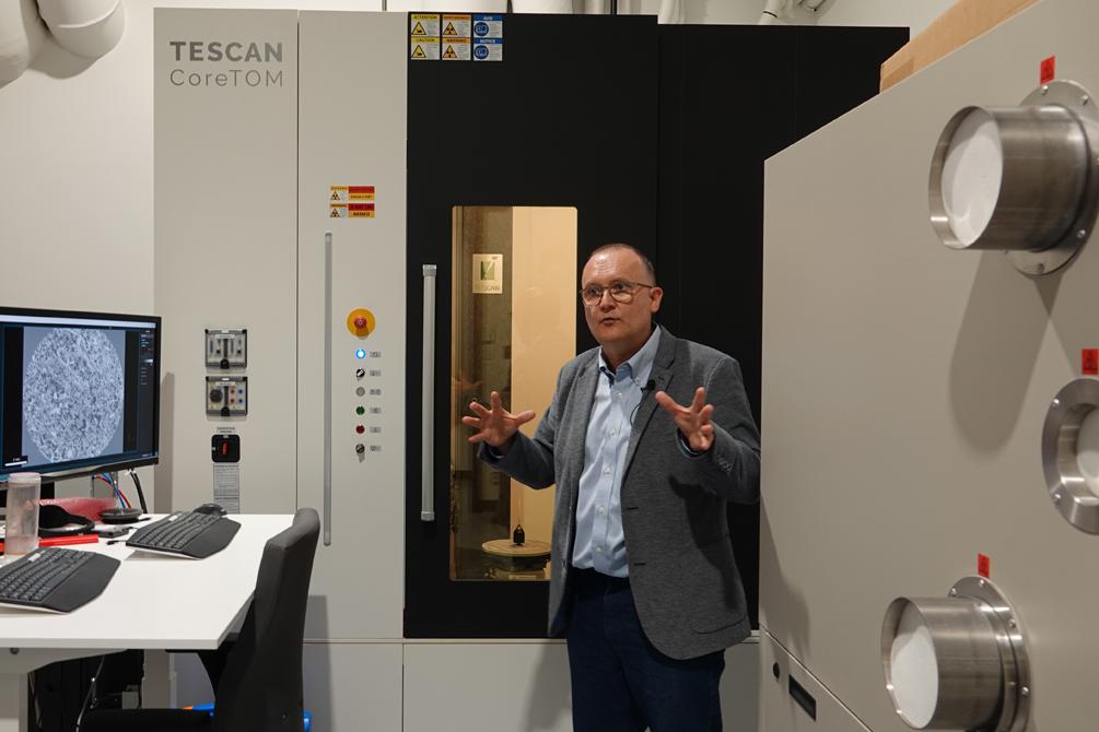 Le nouveau micro-CT Scan de l'INRS.