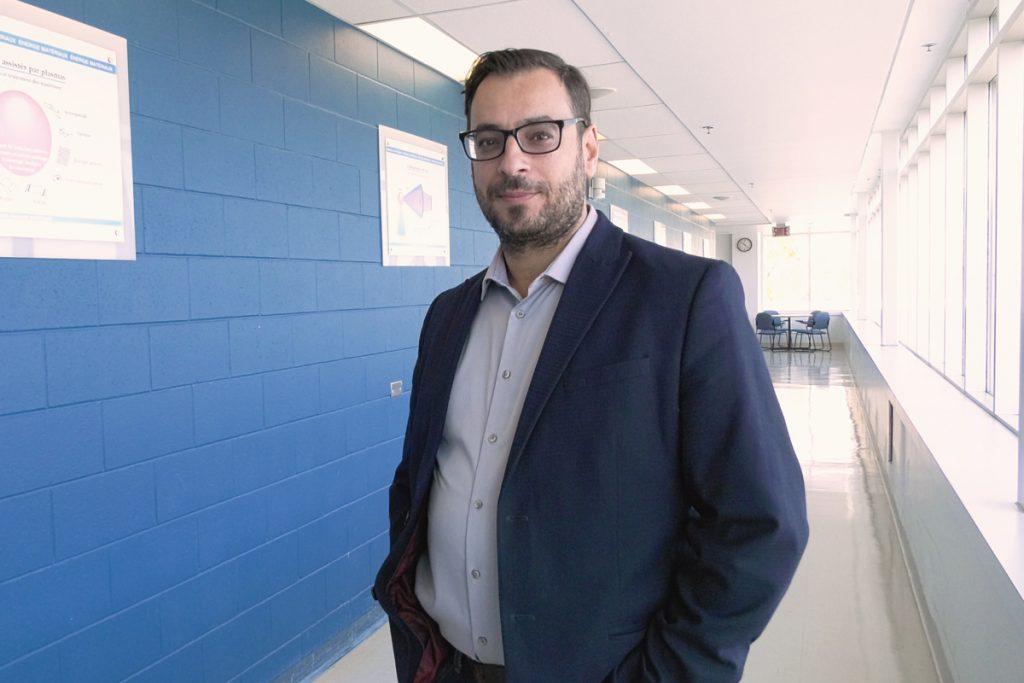 Fiorenzo Vetrone, professeur au Centre Énergie Matériaux Télécommunications de l'INRS