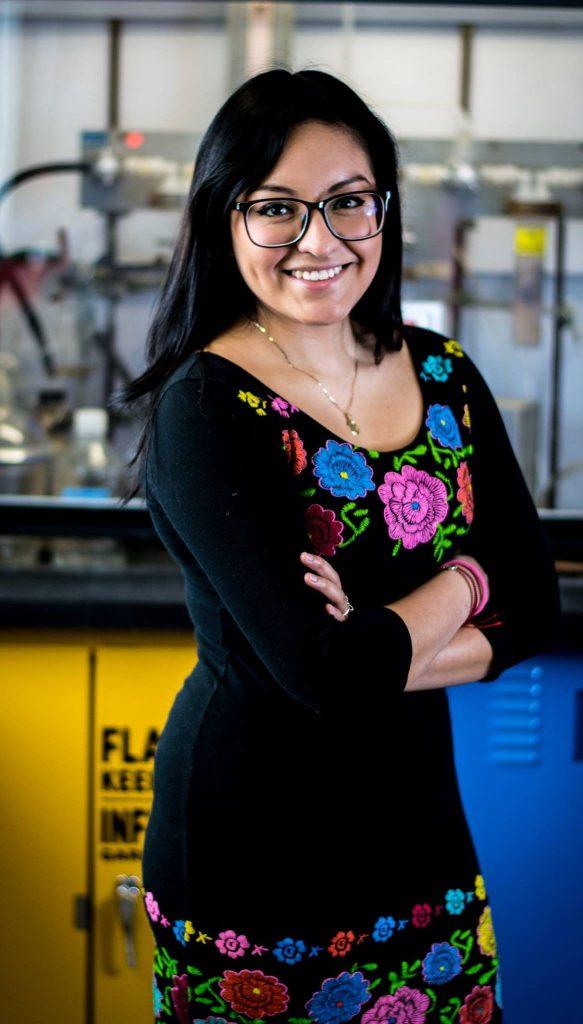 Melany Juárez, doctorante en biologie