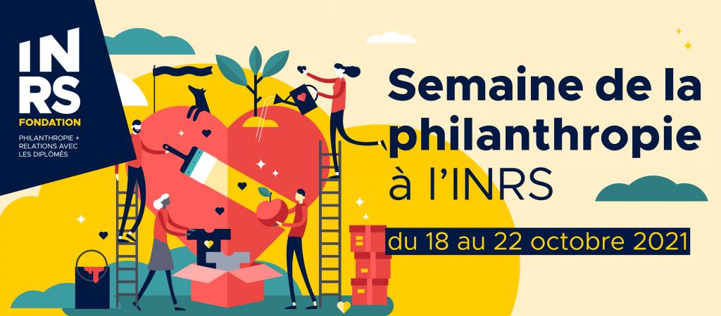 semaine philanthropie