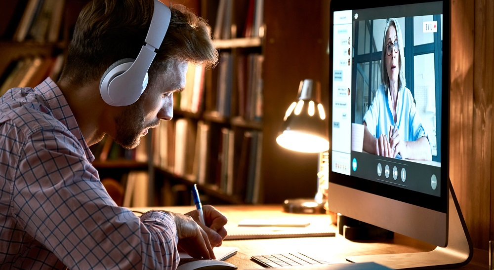 Apprentissage en ligne Online Education Learning