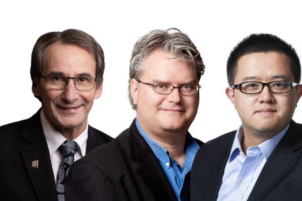 Trois membres de la communauté de l'INRS honorés par l'UQ