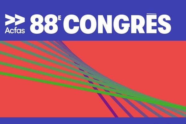 L'INRS bien représenté au 88e Congrès de l'Acfas
